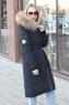 Модный женский пуховик свободного кроя parajumpers