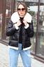 Стильный пуховик женский Parajumpers средней длинны