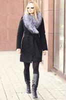 Женская пуховая куртка парка Burberry в стиле аляски как у Бородиной
