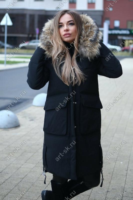 Пуховик пальто женский зимний 2017