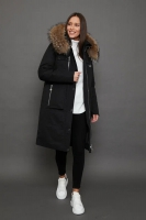 Женская куртка парка canada goose с мехом зима 2018