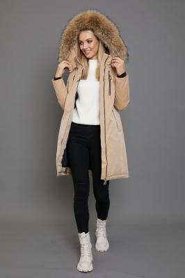 Зимняя куртка парка женская с мехом внутри