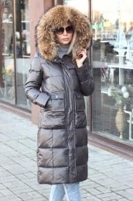 Брендовая куртка одеяло vo tarun серая