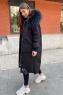 Модный пуховик брендовый с капюшоном