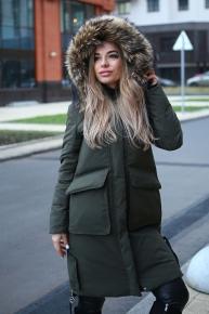 Модное зимнее пальто женское 2020-2021