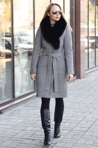 Шерстяное пальто 2018-2019 российского производства